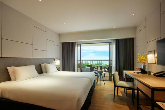 PARKROYAL Penang Resort_Premier_Twin_Seaview