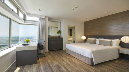 PARKROYAL_Serviced_Suites_Singapore_Bedroom