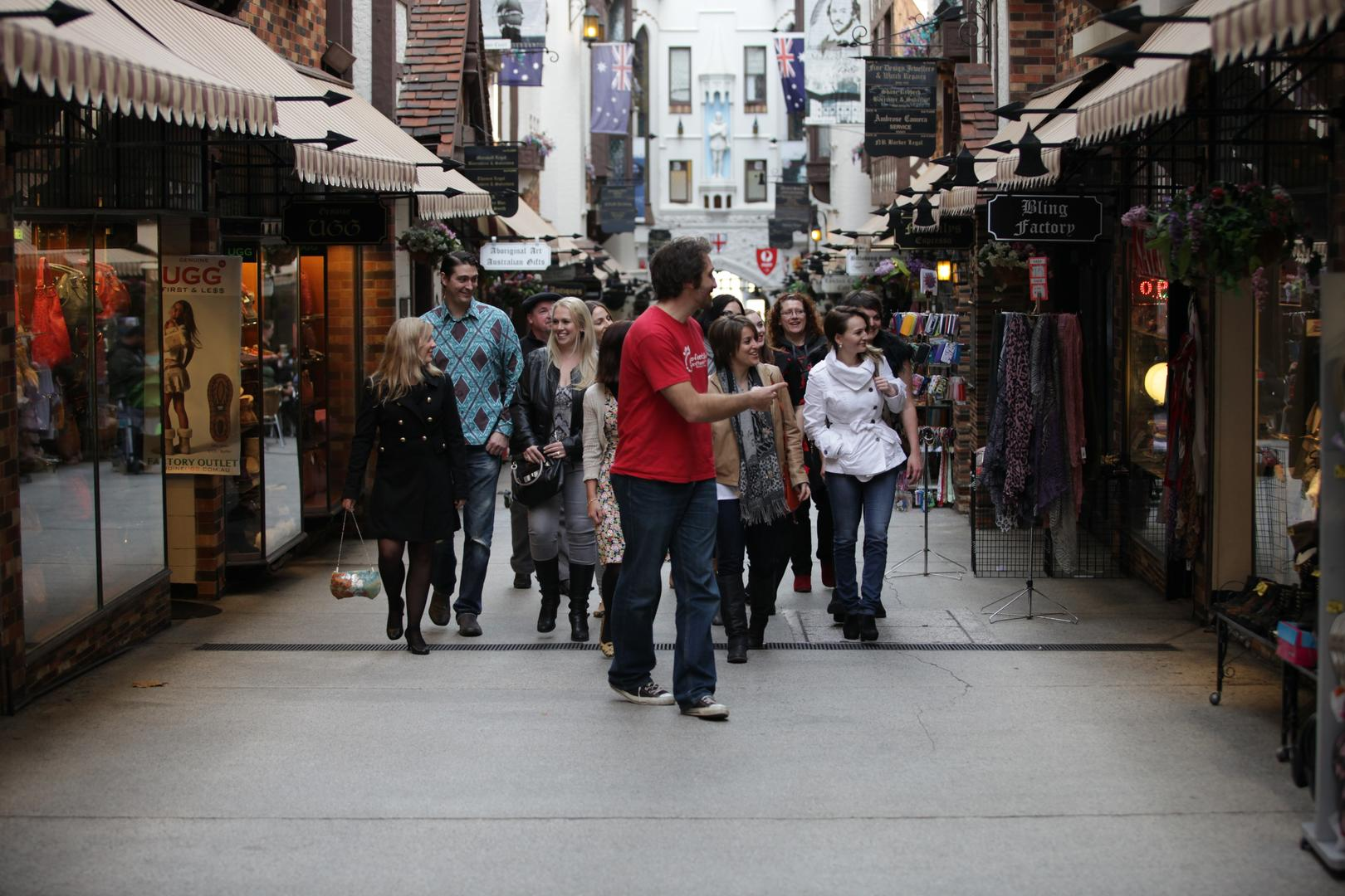 Dine, drink & walk tour Perth CBD