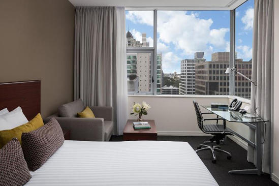 Rydges_ 奥克兰 _Hotel_Deluxe_City_View_King