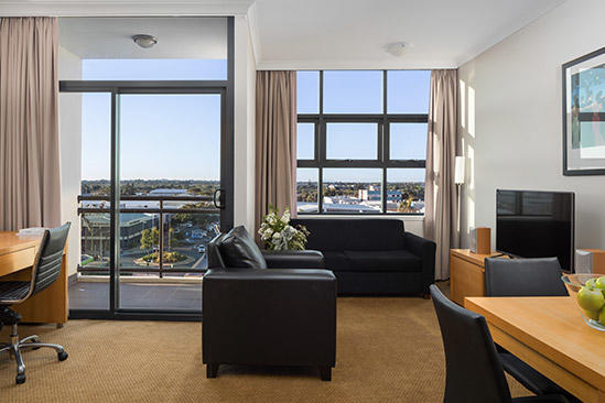 Rydges_ Mackay _Suites_One_schlafzimmer_ suite