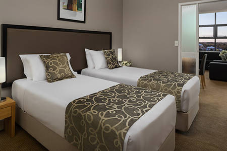 Rydges_ Mackay _Suites_one_bedroom_twin_ suite