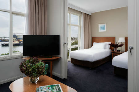 Rydges — — 新堡 — — Twin_Harbourside_Suite