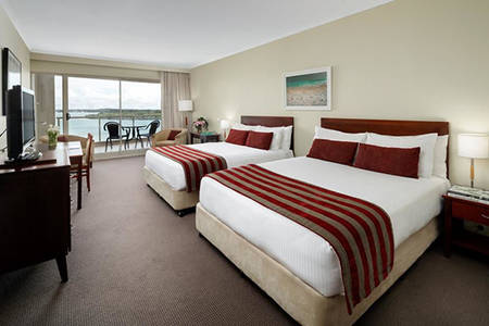 Rydges Port Macquarie_Deluxe Twin Balkon