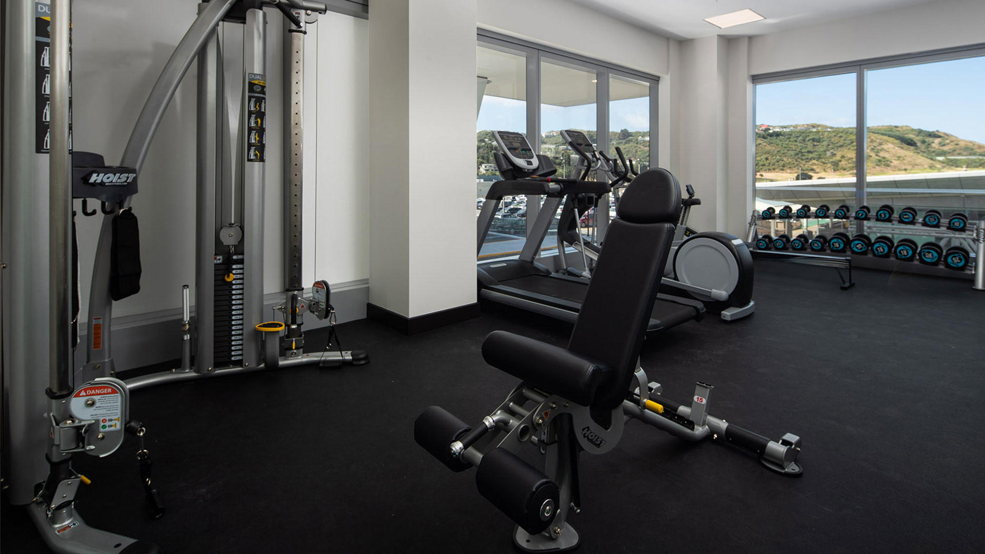Rydges_Wellington_Flughafen_Gym