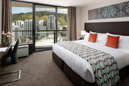 Rydges Wellington_City_View_King