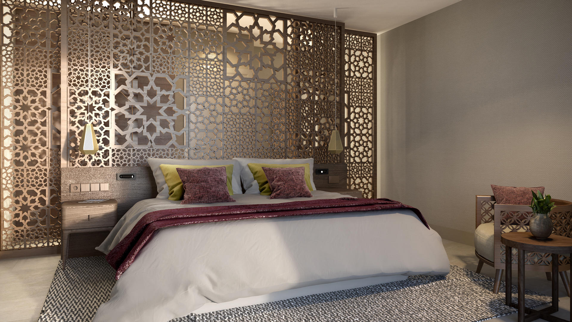 Shaza _ Riad _ Bedroom