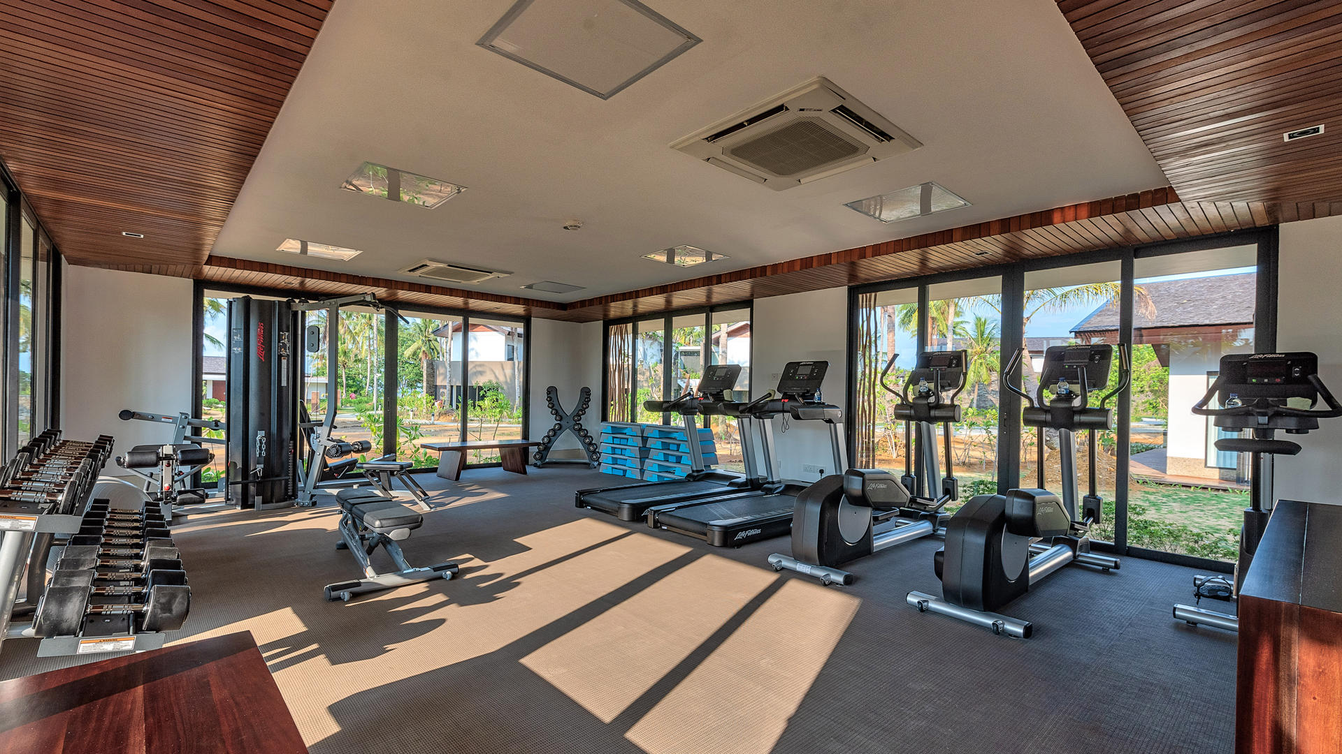 The_Residence_Bintan_Gym_Interior