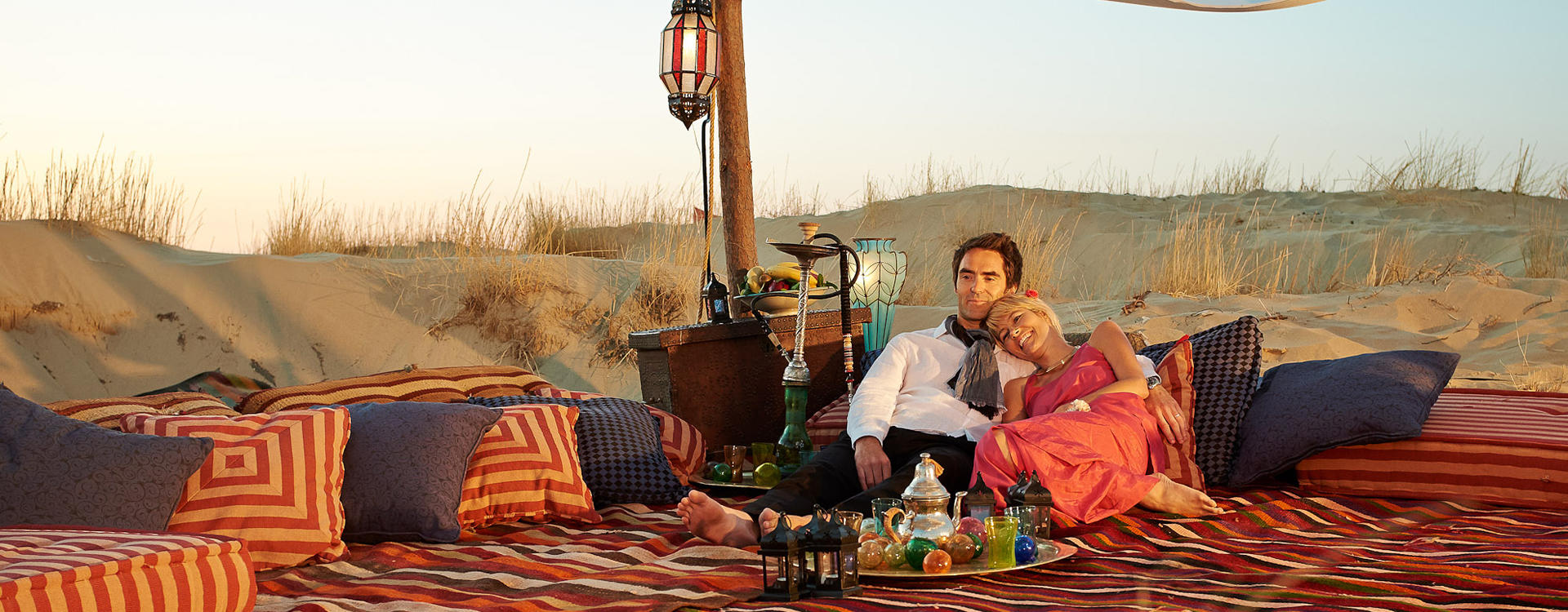 A Magical Private Dinner under a Bedouin Tent