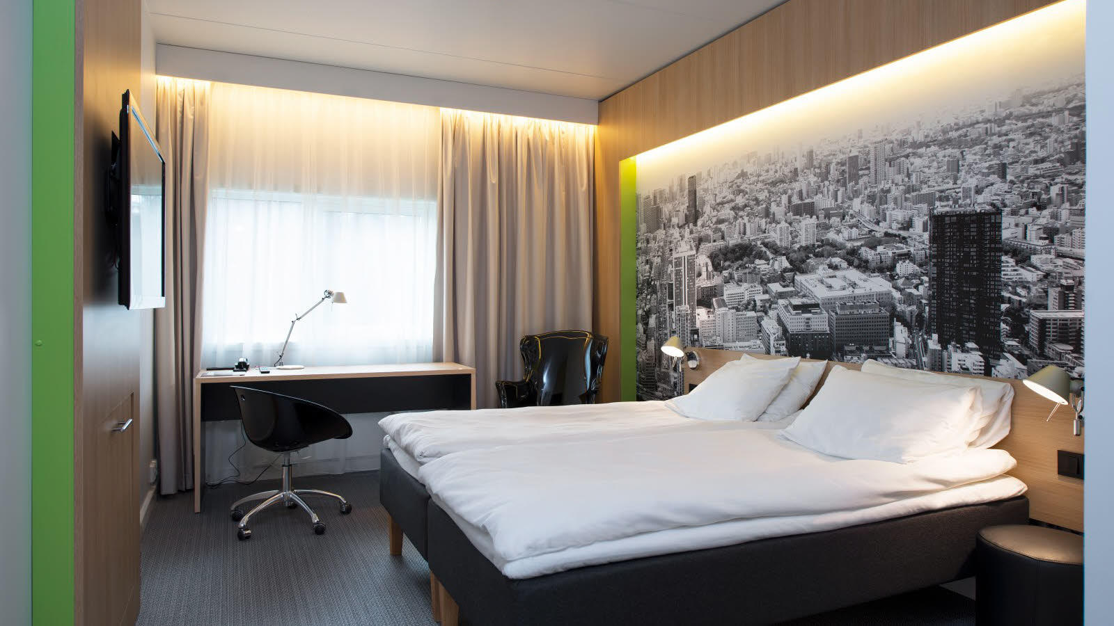 Thon_Hotel_Bergen_Airport_Standard_Room_Twin