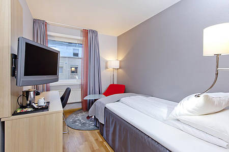 Thon _ Hotel _ Lillestrom _ Standard _ Single _ Room _ Non