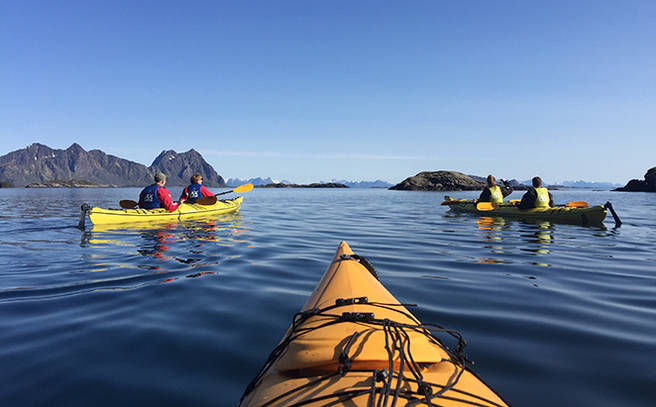 Discover Svolvaer From A Sea Kayak 2 Persons