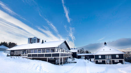 Thon Hotel Narvik_Exterior Winter