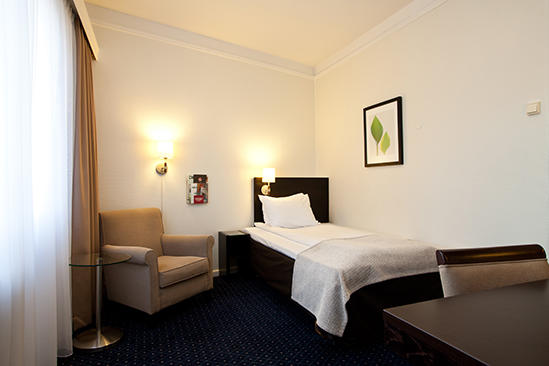Thon _ Hotel _ Slottsparken _ Standard _ Single _ Room _ Non
