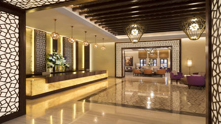 Souq_Al_Wakra_Hotel_ 卡塔尔 _by_Tivoli_Lobby_South
