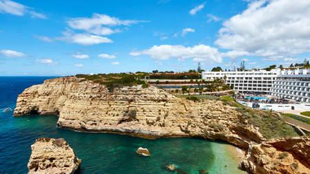 Tivoli Carvoeiro Algarve Resort's View and Facade