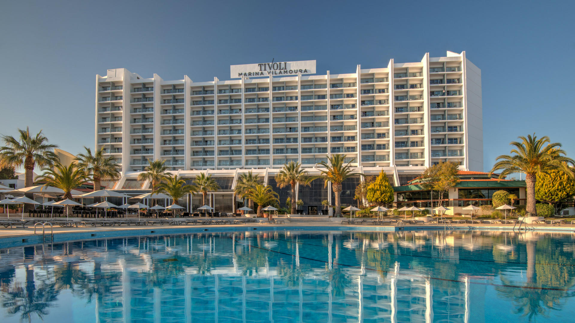 Tivoli Marina Vilamoura Algarve Resort's Pool and Facade