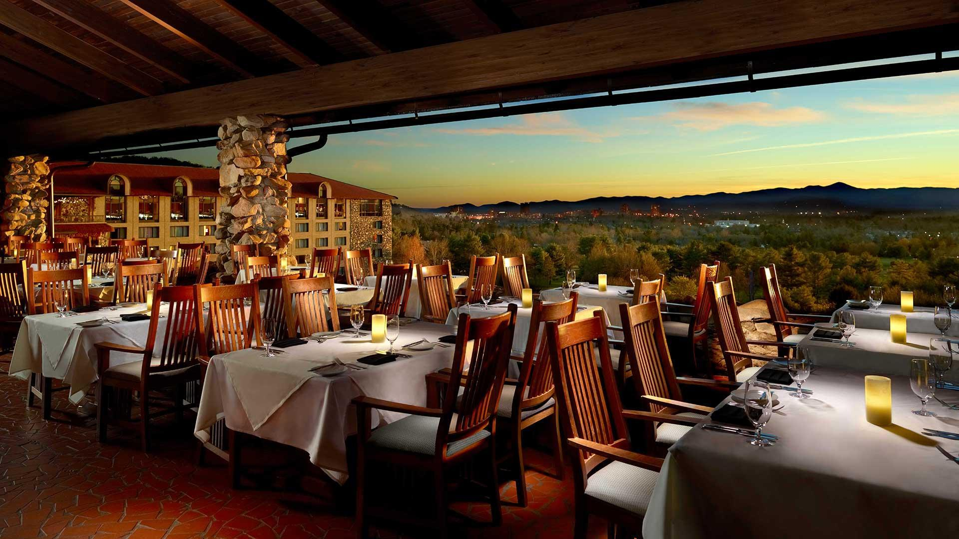 OmniGroveParkInn_sunset-Terrasse