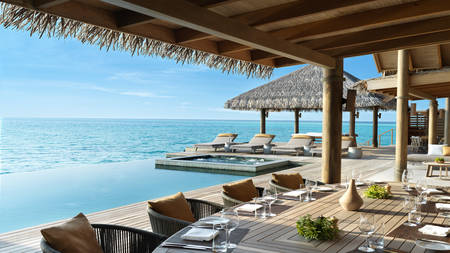 Vakkaru-Maldives-Four-Bedroom-Over-Water-Pool-Residence-Terrace-Dining