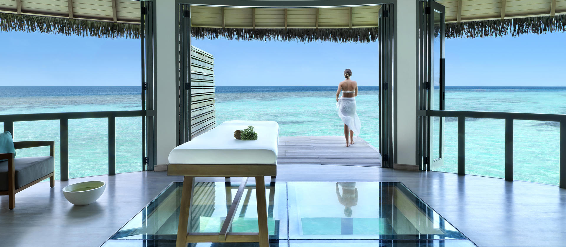 Vakkaru Maldives Spa-Behandlungsraum Lifestyle