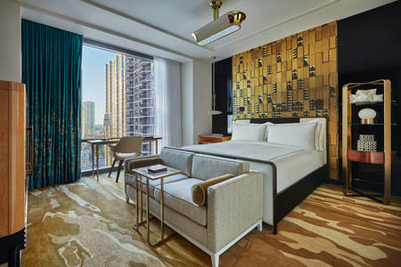 ViceroyChicago_Viceroy Grand Zimmer mit Kingsize-Bett